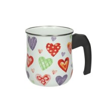'Straight saucepan 18 cm (black)'
