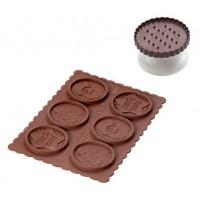 Tagliapasta e cioccolato Choc Natale Silikomart
