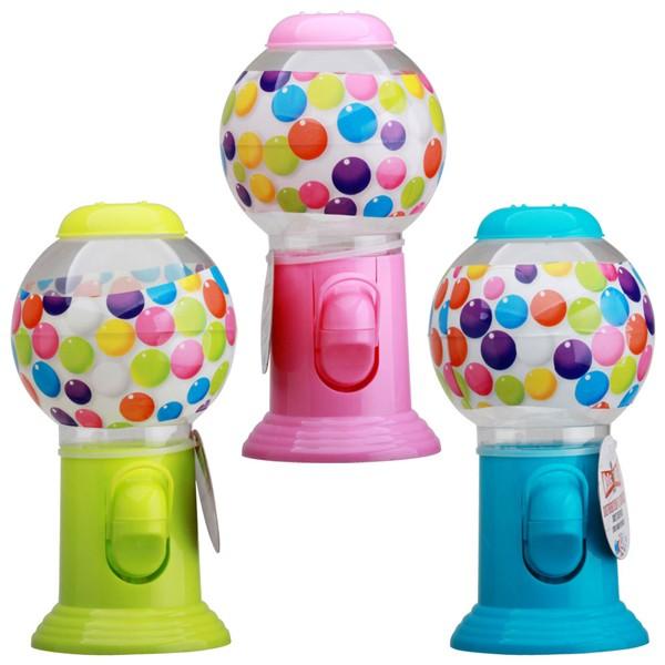 Dispensador de chicles o caramelos 3 colores 9xh19cm