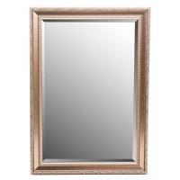 Espejo marco resina dorado relieve detalle clásico hojas 60x90cm