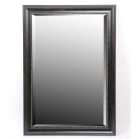 Espejo marco resina negro con detalle puntos dorados 60x90cm