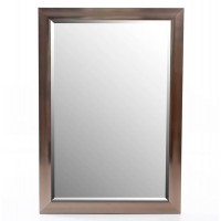 Espejo resina marco champagne 60x90h cm ext. 70x100h cm