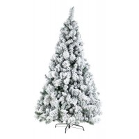 Arbol de Navidad nevado Cermis 574 ramas altura 180cm