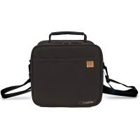 Bolsa isotérmica Classic lunchbag Iris negro + 2 tuppers