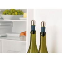 St. steel spout for wine + rubber cap