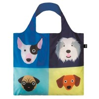 Bolsa plegable Stephen Cheetham Dogs Loqi