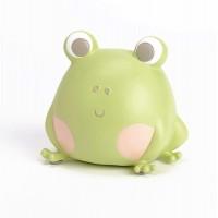Hucha infantil rana verde 11x8x11h cm