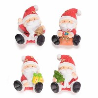 Imanes nevera Papa Noel 4 modelos 4x6h cm