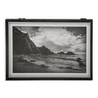 Tapa cubre contadores imagen playa blanco y negro 33x4,5x46cm