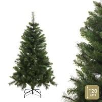 Árbol de Navidad mixto con 176 ramas altura 120h cm
