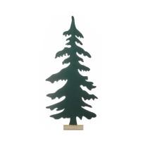 Árbol navidad fieltro verde para decorar 48x8x103h cm