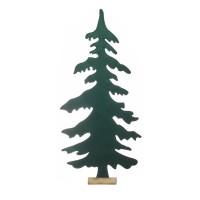 Árbol navidad fieltro verde para decorar 58x9x122h cm