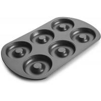 Mollde donuts 6 cavidades acero antiadherente Ibili