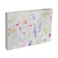 Tapa cubre contadores flores primavera Blume 46x33x4,5cm