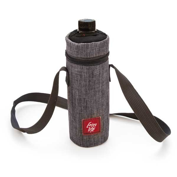 Portabotellas isotérmica bottle bag Gris Jaspeada 0,5 litros