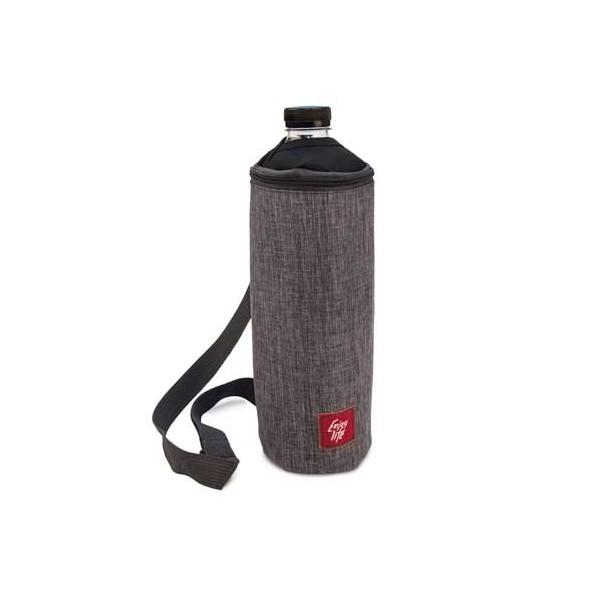 Portabotellas isotérmica bottle bag Gris Jaspeada 1,5 litros
