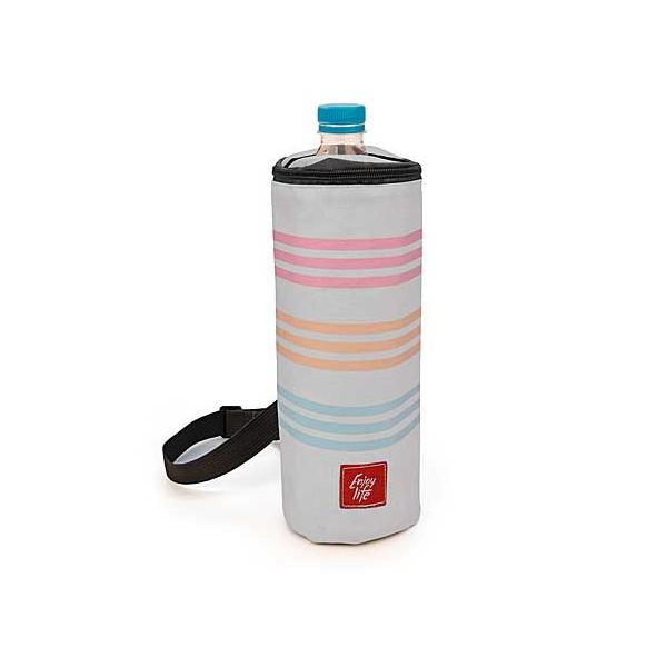 Portabotellas isotérmica bottle bag Rayas Mediterránea 1,5 litros