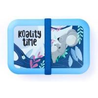 Fiambrera infantil azul Koala Tropical Teens Koality Time 21x14x5h cm