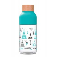 Botella infantil de tritan estampado azul tipis Ice Indian 57cl