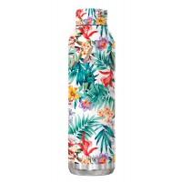 Botella térmica doble pared inox Quokka Orchid Garden Orquidea 63cl